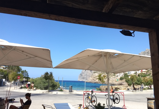 Bar in Cala Sant Vicenc