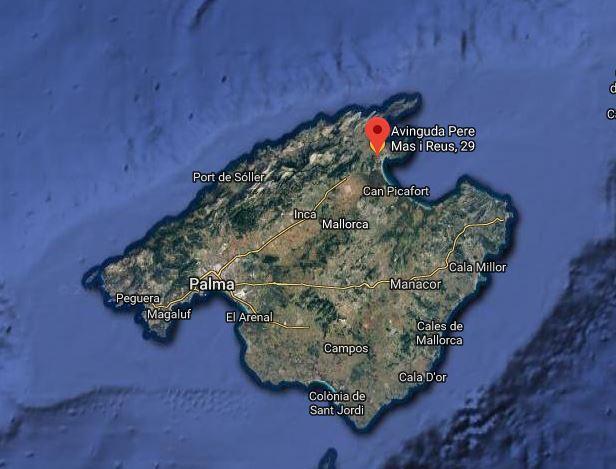 lage Alcudia Mallorca